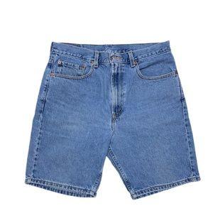 Levi's Mens 505 Jeans Cotton Denim Shorts Size 34